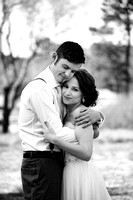 Couples Outdoor Wedding Portraits