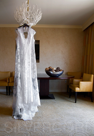 The dress is ready :  Wedding photography by Raleigh NC based professional event and destination photographer Sally Siko.