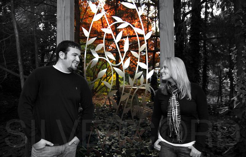 Engagement Photography + Raleigh, NC + JC Raulston Arboretum