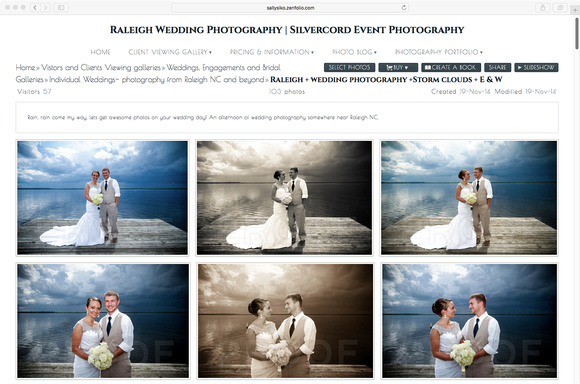Your photos with all printing rights INCLUDED.