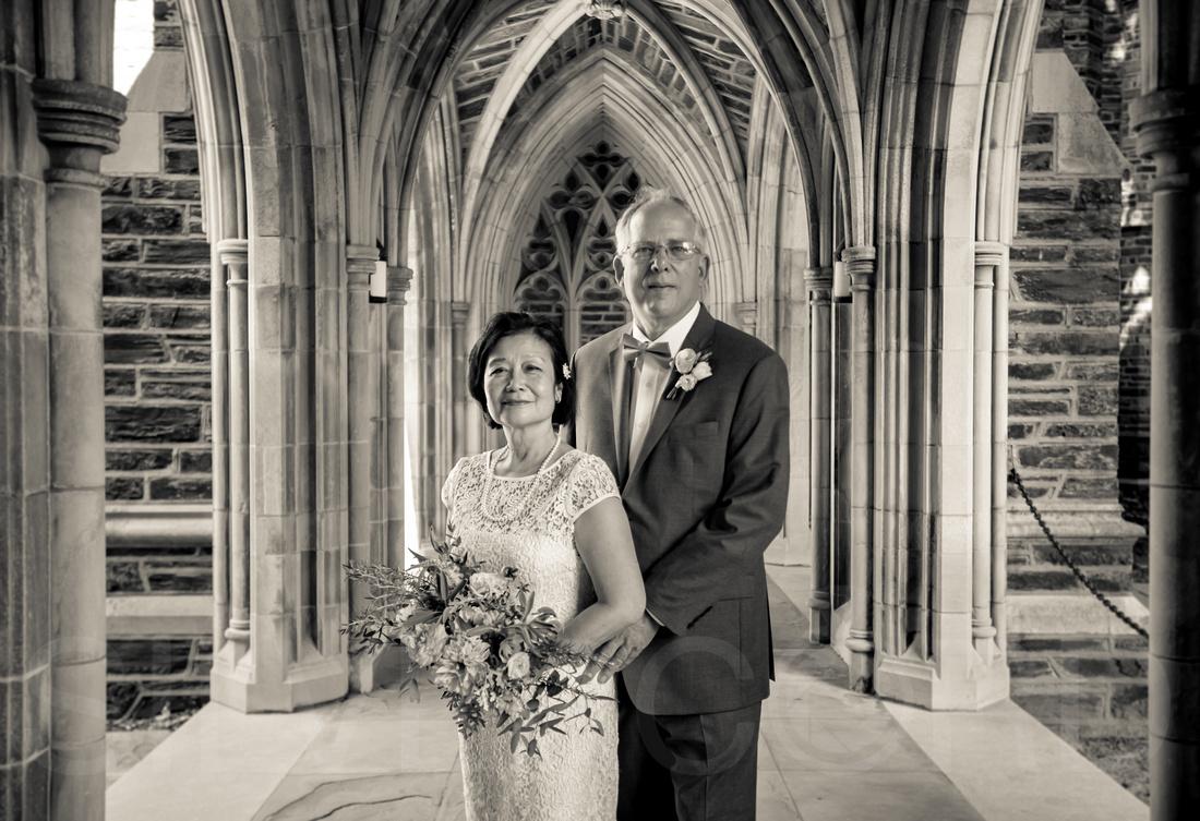 Duke Chapel wedding photography, photographer wedding vow renewal-15