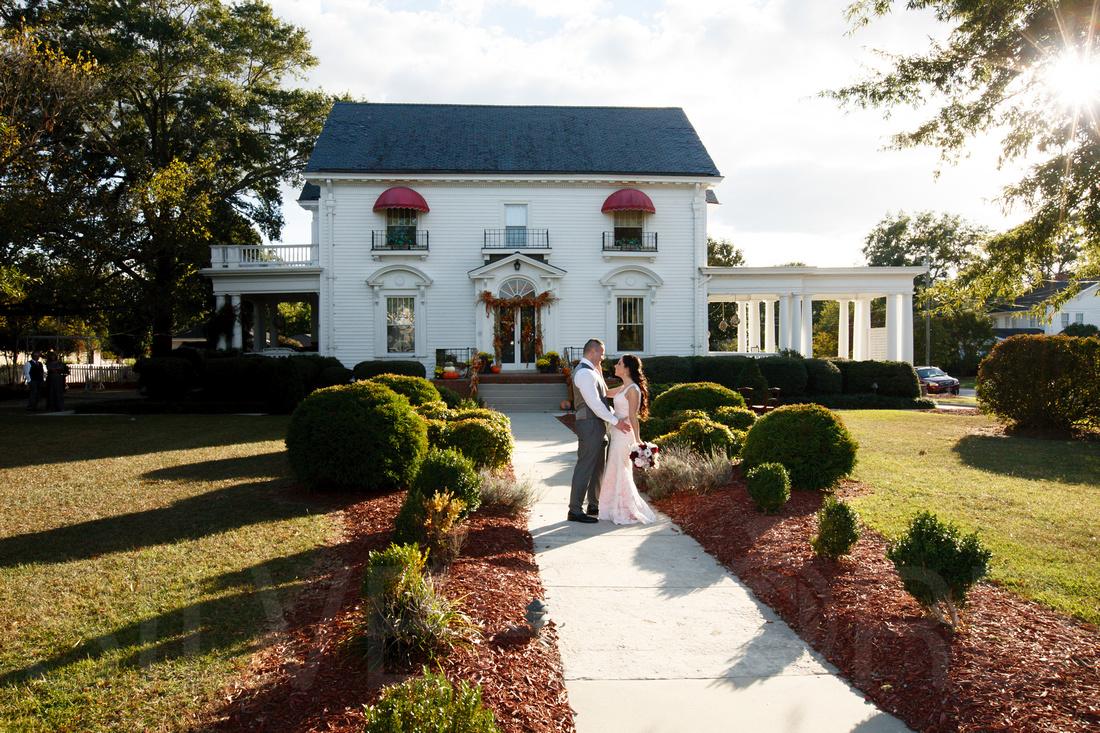 Simply Divine Dunn NC wedding photography October wedding North Carolina-45