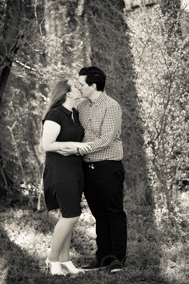 Engagement photography at Yates Mill Park and Engagement photography in Fuquay Varina at antique shop Bostic Wilson by Silvercord Event Photography-7