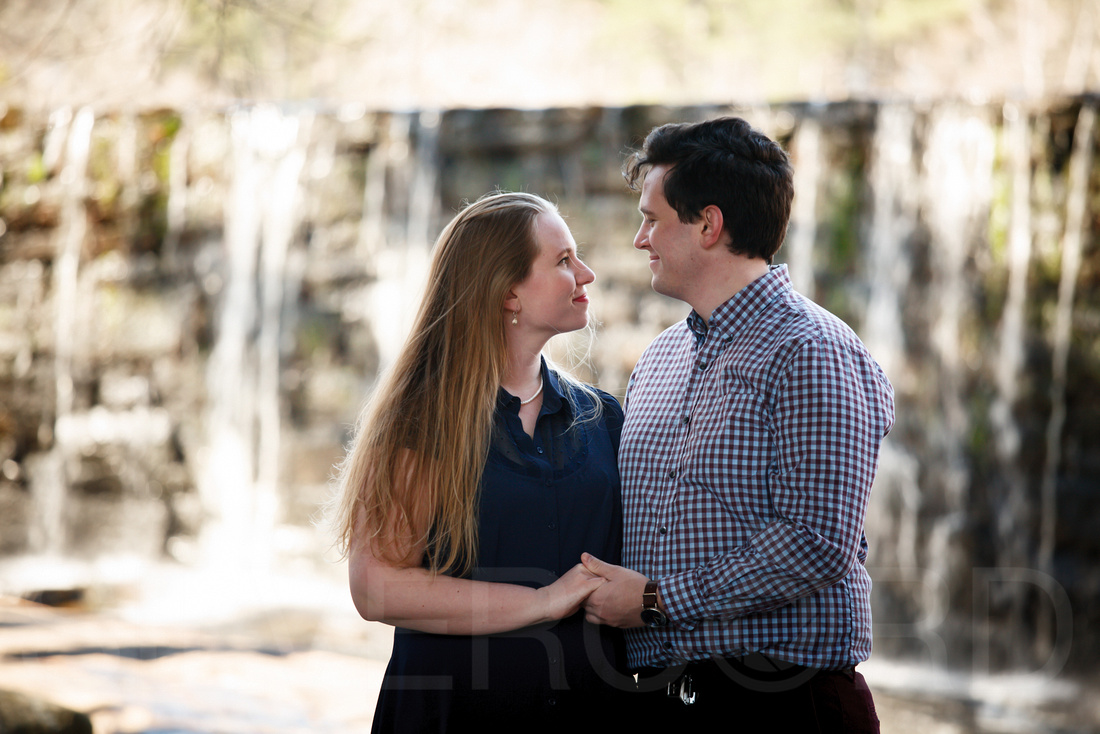 Engagement photography at Yates Mill Park and Engagement photography in Fuquay Varina at antique shop Bostic Wilson by Silvercord Event Photography-14