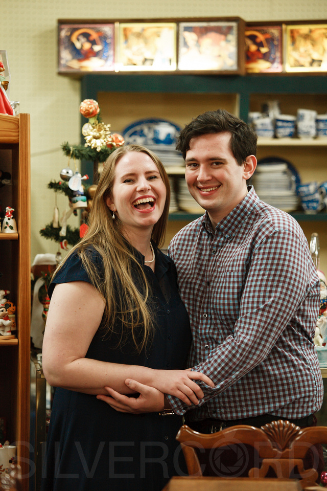 Engagement photography at Yates Mill Park and Engagement photography in Fuquay Varina at antique shop Bostic Wilson by Silvercord Event Photography-19