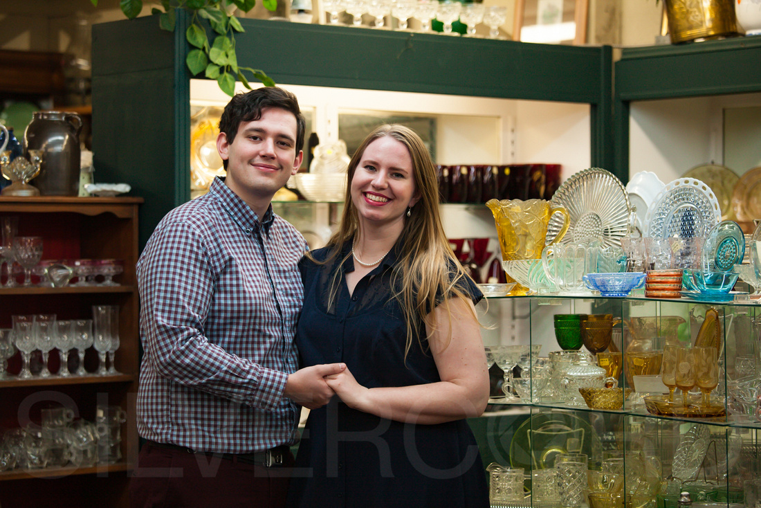 Engagement photography at Yates Mill Park and Engagement photography in Fuquay Varina at antique shop Bostic Wilson by Silvercord Event Photography-22