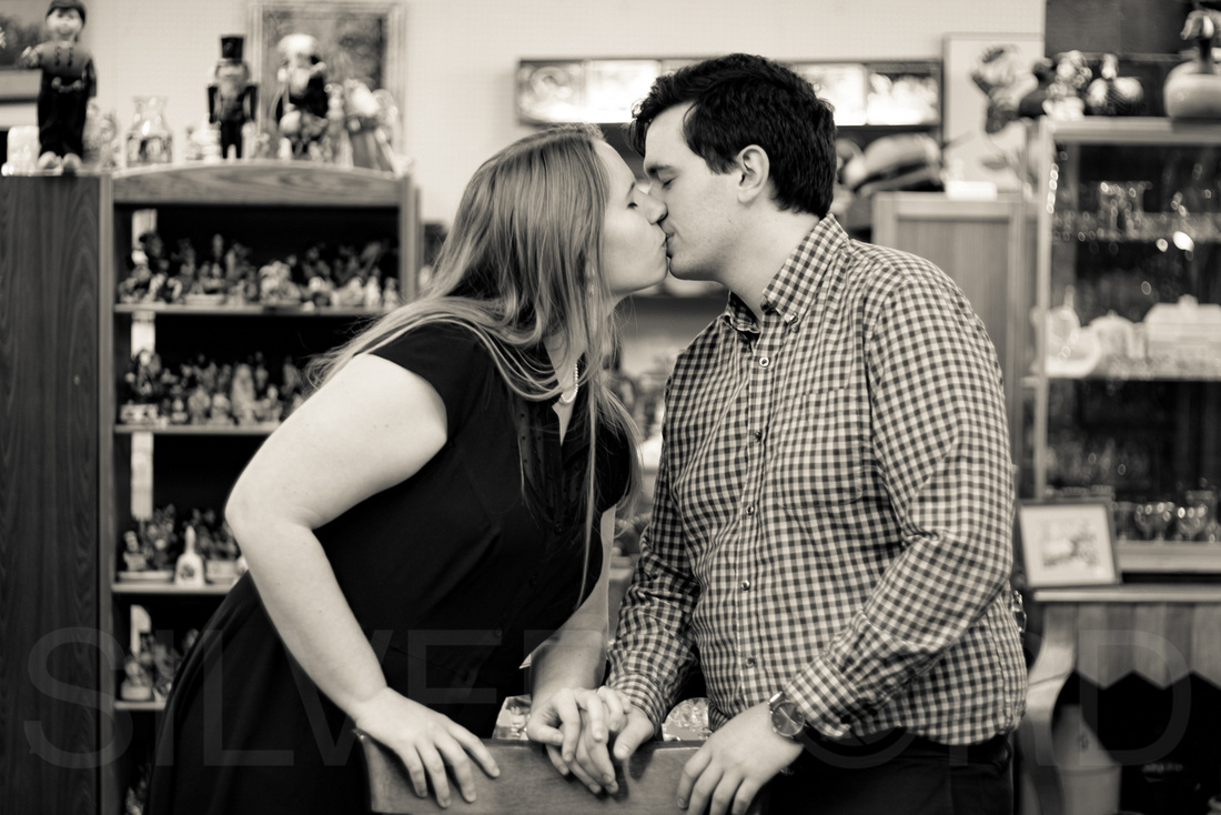 Engagement photography at Yates Mill Park and Engagement photography in Fuquay Varina at antique shop Bostic Wilson by Silvercord Event Photography-40