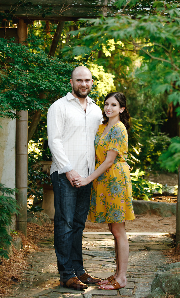 Engagement photography at JC Raulston Arboretum in Raleigh by Silvercord Event Photography-5