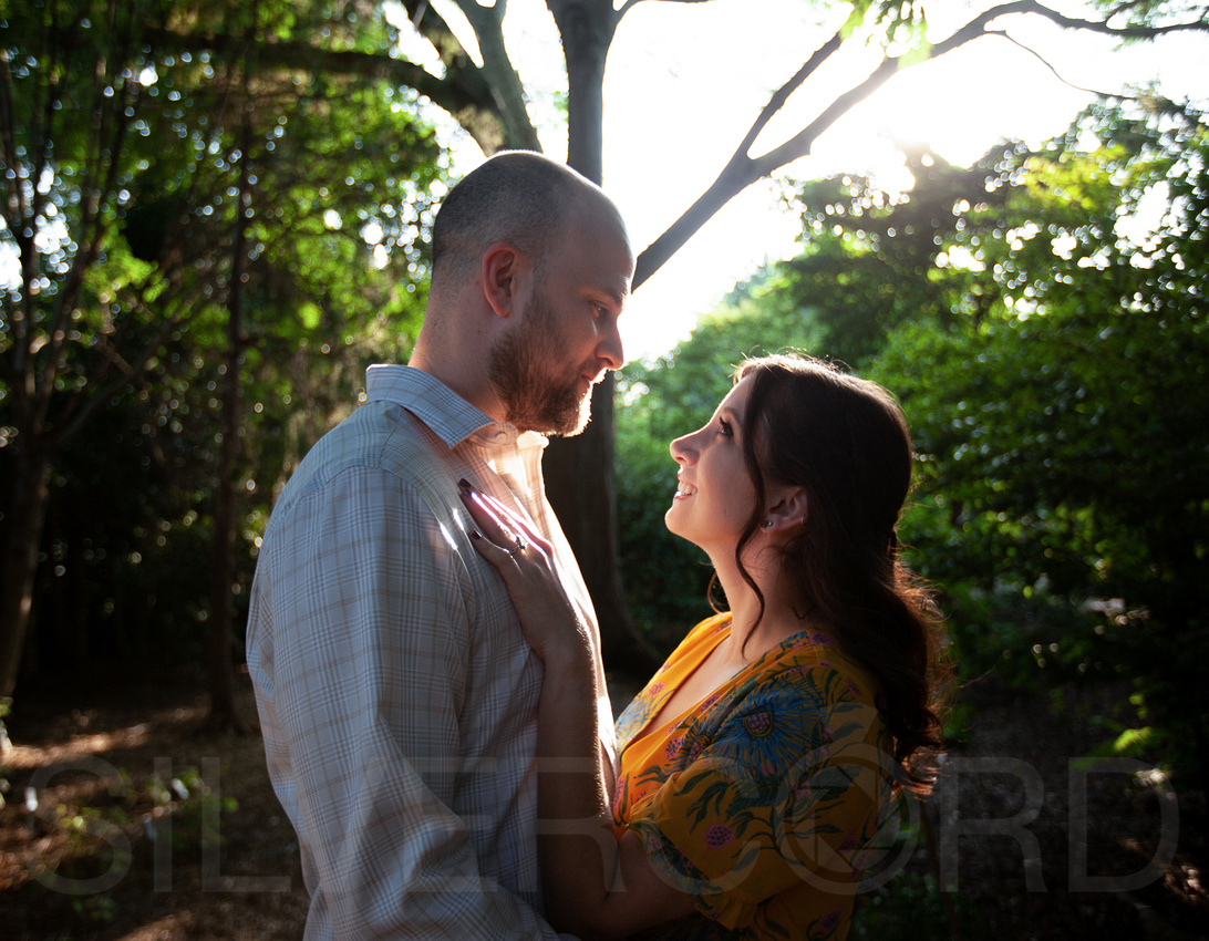 Engagement photography at JC Raulston Arboretum in Raleigh by Silvercord Event Photography-1