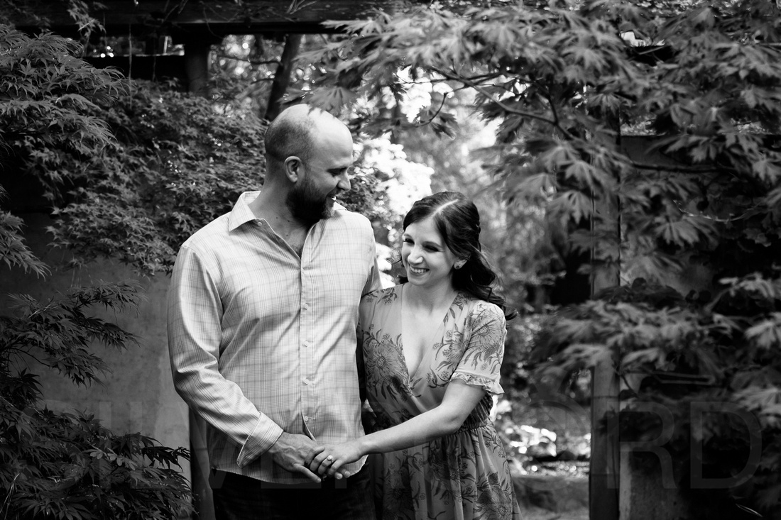 Engagement photography at JC Raulston Arboretum in Raleigh by Silvercord Event Photography-6
