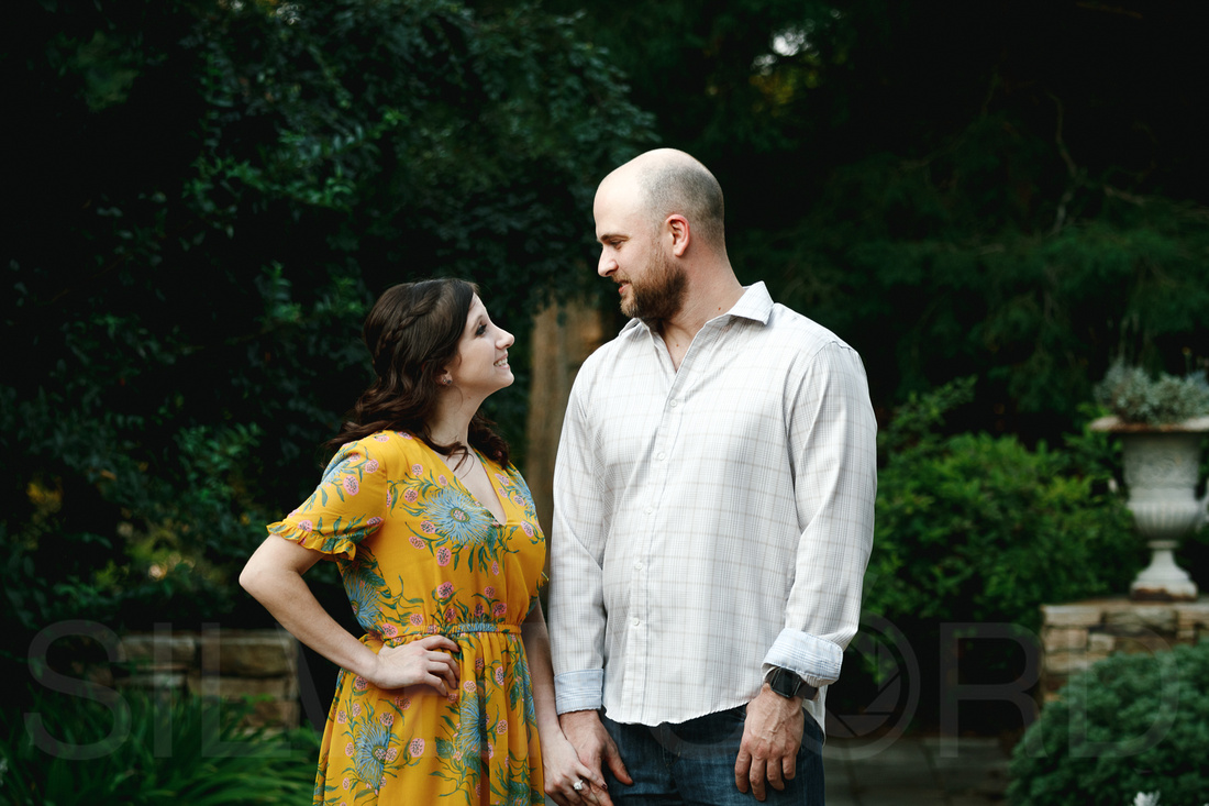 Engagement photography at JC Raulston Arboretum in Raleigh by Silvercord Event Photography-9