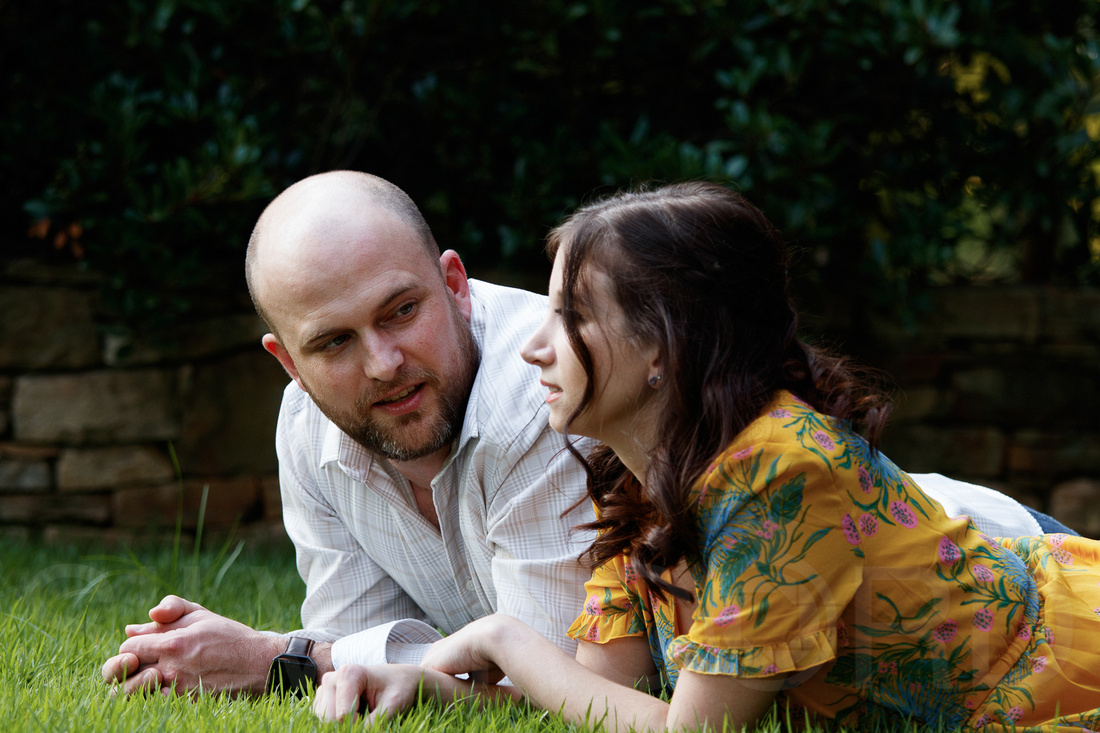 Engagement photography at JC Raulston Arboretum in Raleigh by Silvercord Event Photography-10