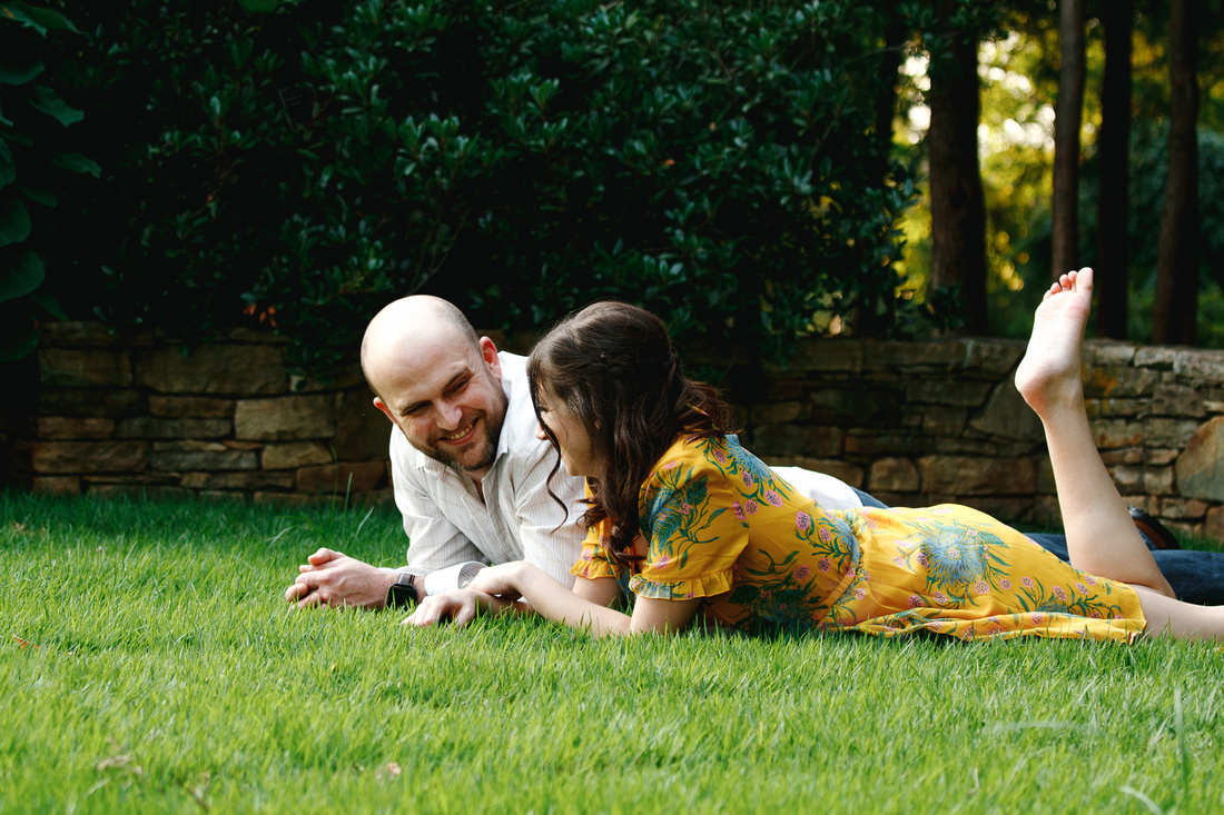 Engagement photography at JC Raulston Arboretum in Raleigh by Silvercord Event Photography-12