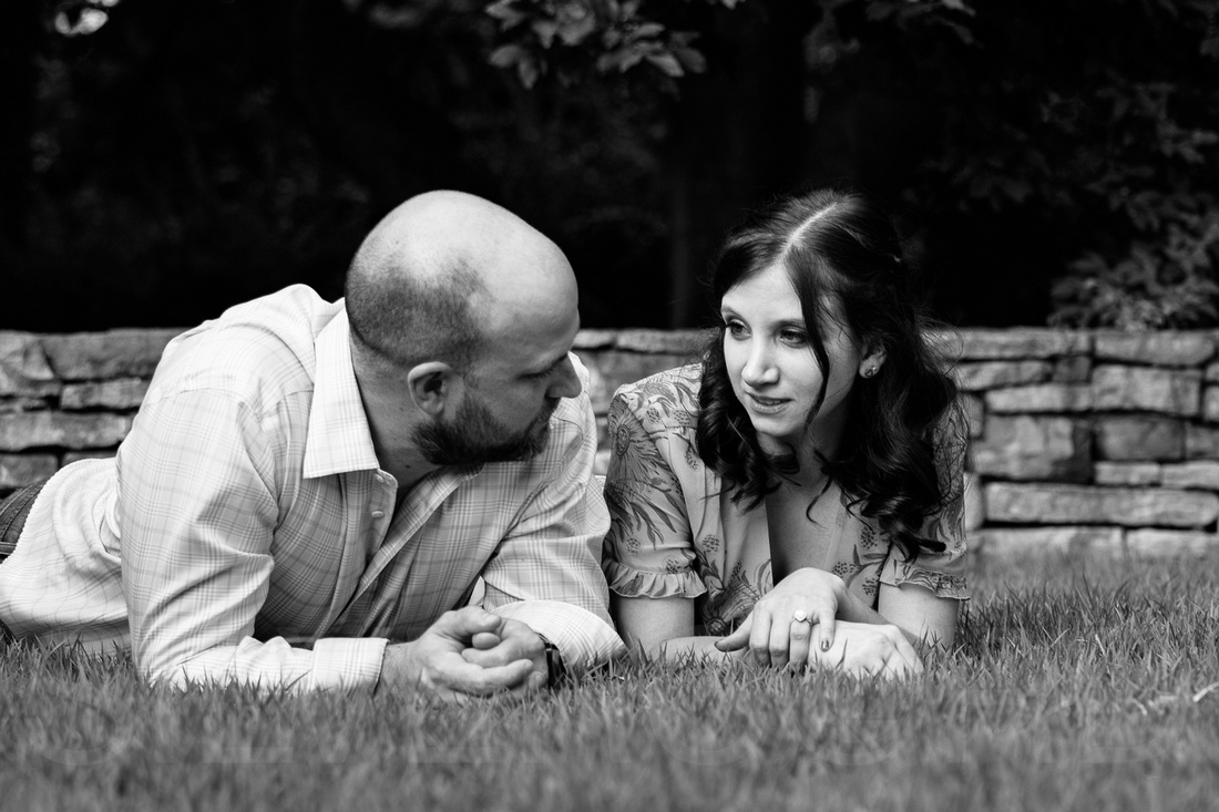 Engagement photography at JC Raulston Arboretum in Raleigh by Silvercord Event Photography-13