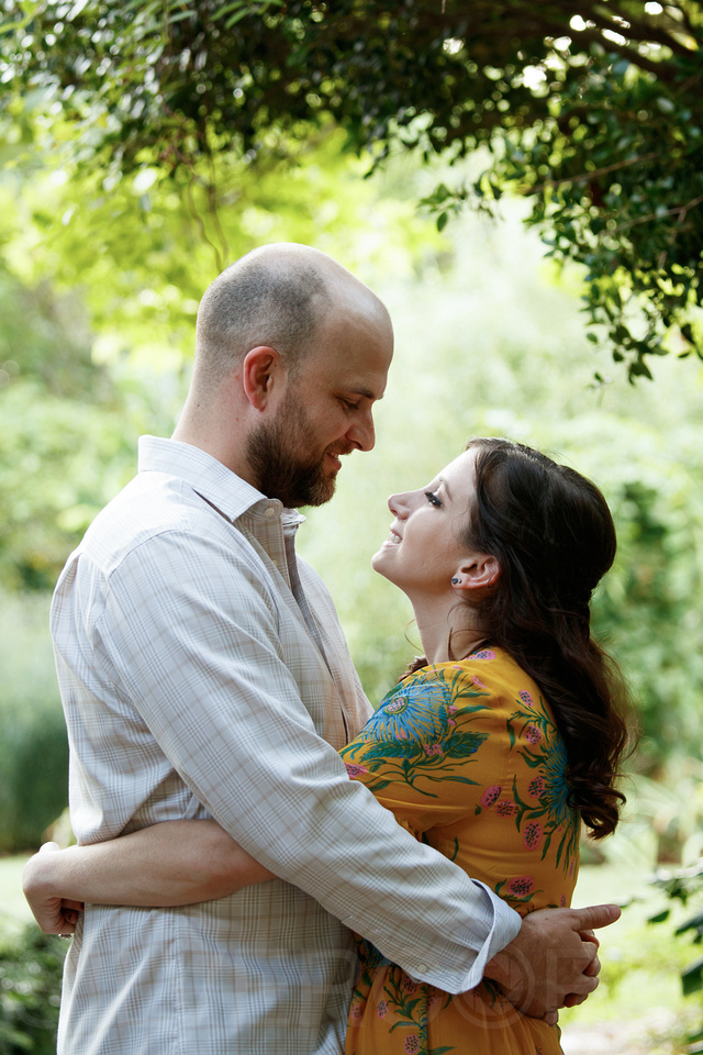 Engagement photography at JC Raulston Arboretum in Raleigh by Silvercord Event Photography-15