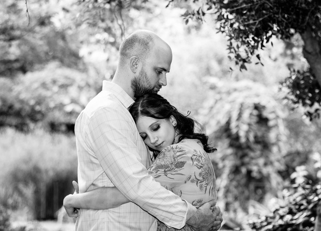 Engagement photography at JC Raulston Arboretum in Raleigh by Silvercord Event Photography-17