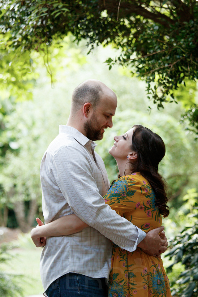 Engagement photography at JC Raulston Arboretum in Raleigh by Silvercord Event Photography-18