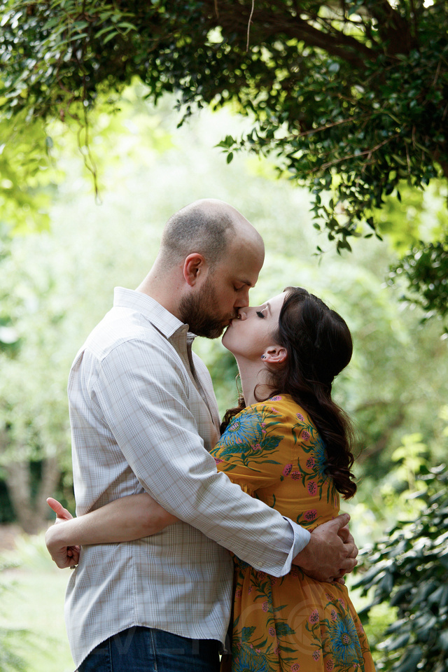 Engagement photography at JC Raulston Arboretum in Raleigh by Silvercord Event Photography-19