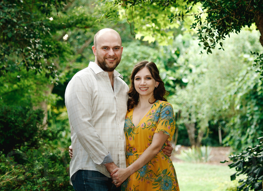 Engagement photography at JC Raulston Arboretum in Raleigh by Silvercord Event Photography-20