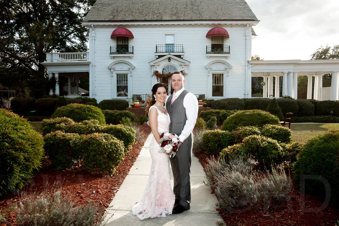 Simply Divine Dunn NC wedding photography October wedding North Carolina-39