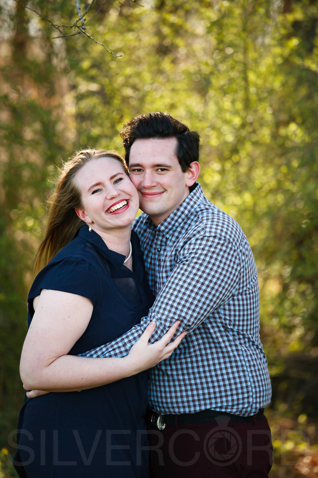 Engagement photography at Yates Mill Park and Engagement photography in Fuquay Varina at antique shop Bostic Wilson by Silvercord Event Photography-8