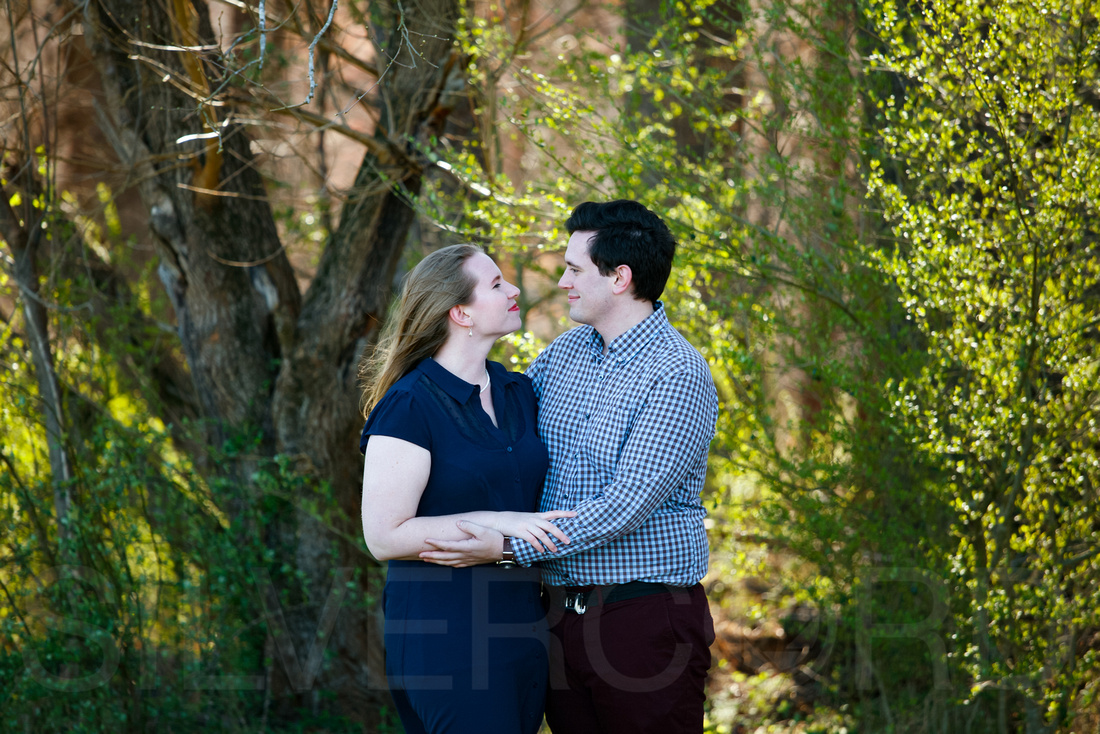 Engagement photography at Yates Mill Park and Engagement photography in Fuquay Varina at antique shop Bostic Wilson by Silvercord Event Photography-6