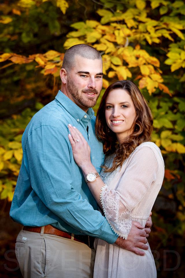 Harris Lake Engagement couples portrait