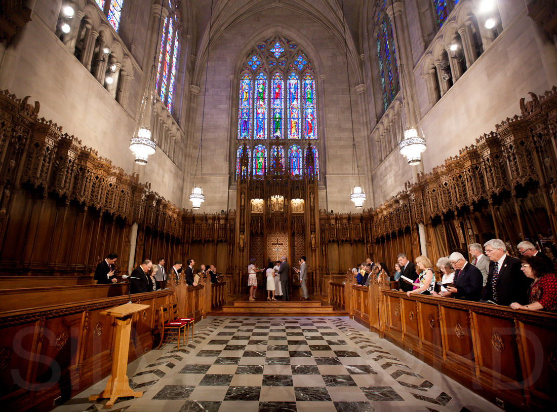 Duke Chapel wedding photography, photographer wedding vow renewal-36